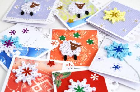 открытки 3д новый год