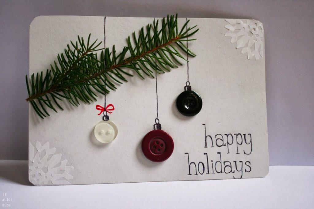 Простые открытки на новый год сделанные своими руками, смешные картинки