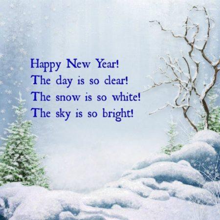 один пожелание на новый год в стихах на английском новые лоты запросу