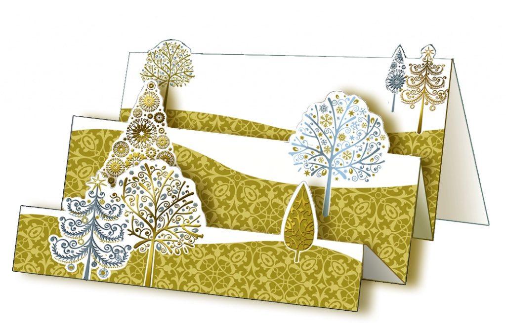Пейзажи весна, трехмерные открытки на новый год