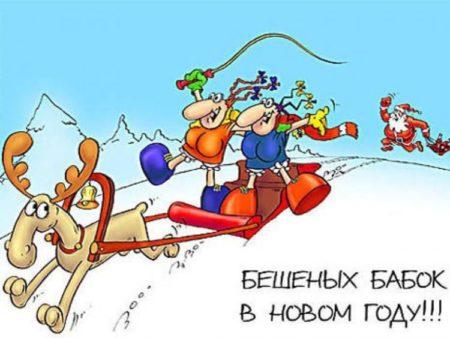 также открытки смешные про новый год подруга мое объективное