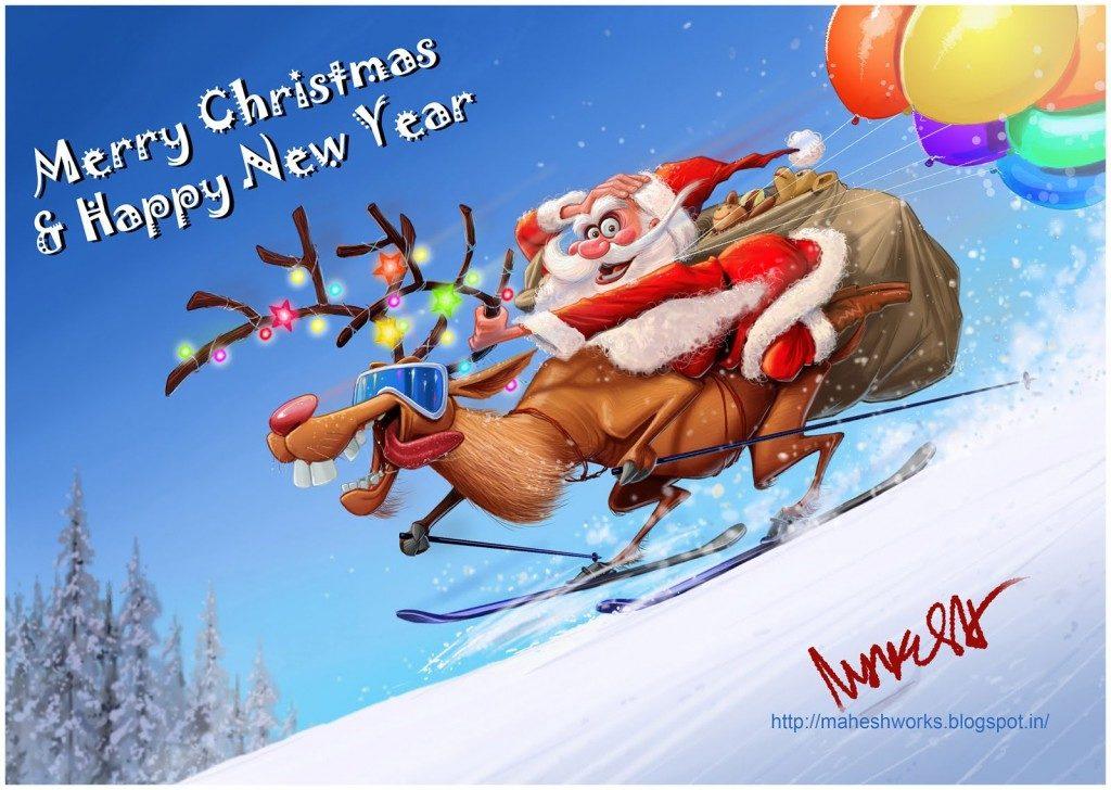 Смешные поздравления на новый год 2017 в картинках, открытку саратов поздравление