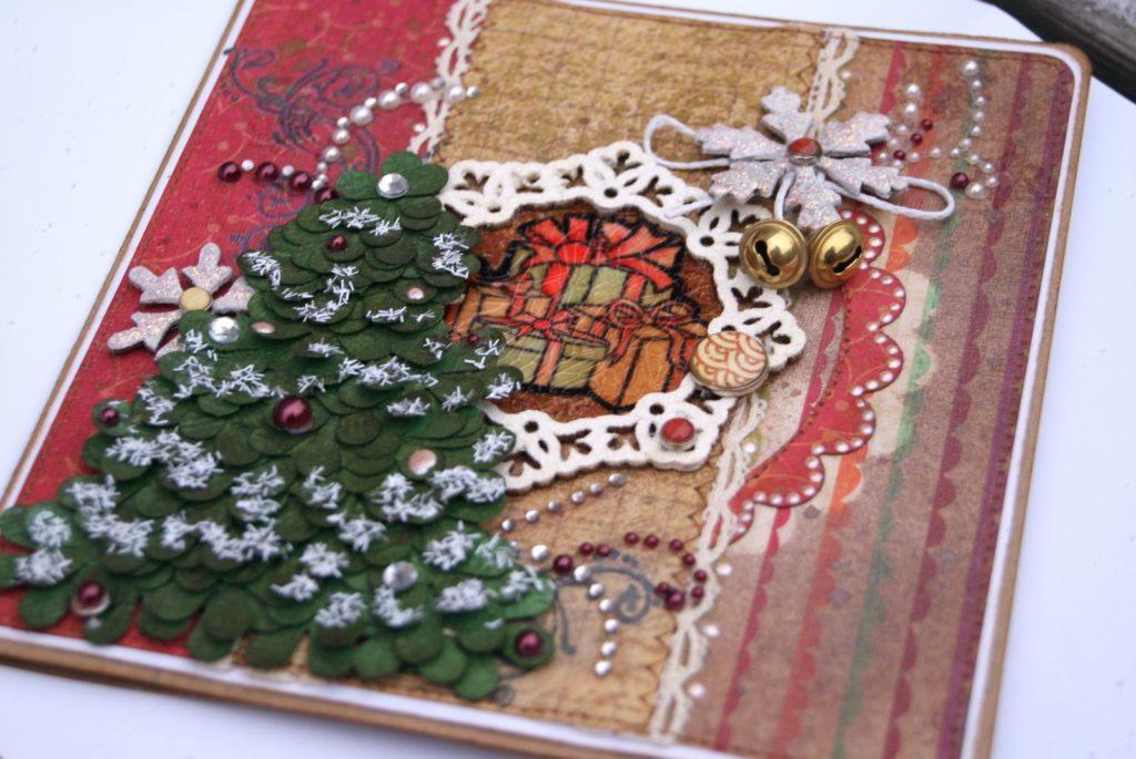 открытки к новому году своими руками красивые нашей