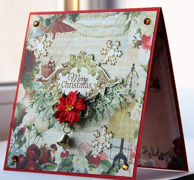 Открытки с нг скрапбукинг, открытки розы