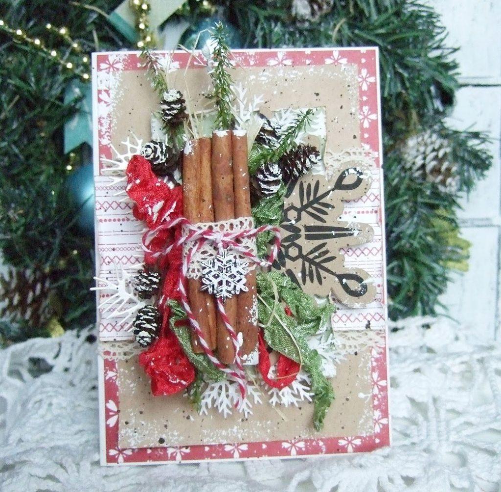 Открытки, фото скрапбукинг открытки на новый год своими руками фото