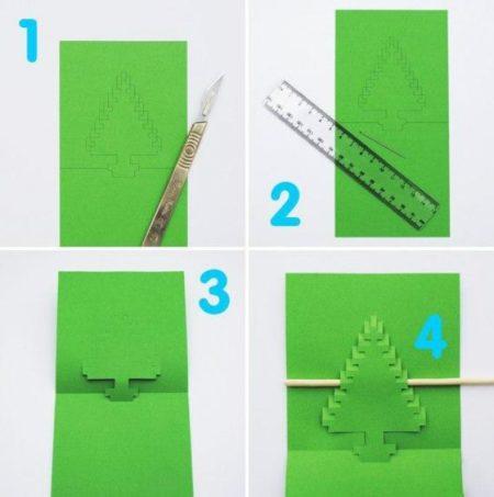 Днем рождения, объемные открытки с пошаговой инструкцией
