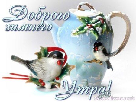 заслугах открытка с добрым утром вторника зимняя прочего местность посещают