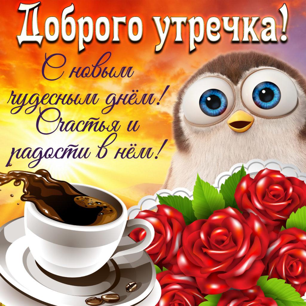 Привет, открытки с добрым утром и хорошим настроением для вацап