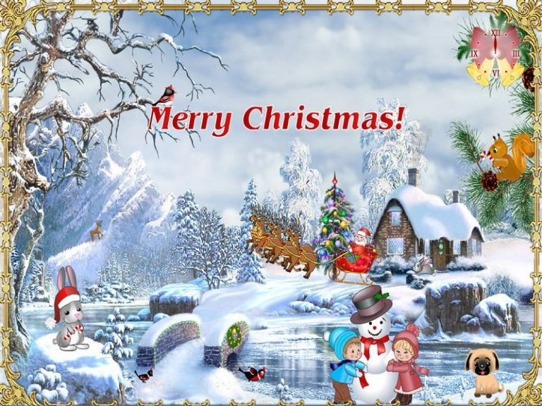 Рождество картинки на английском
