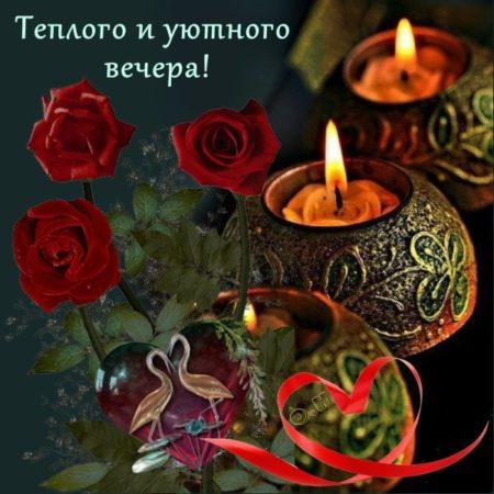 уютного вечера и доброй ночи картинки лучшие котором