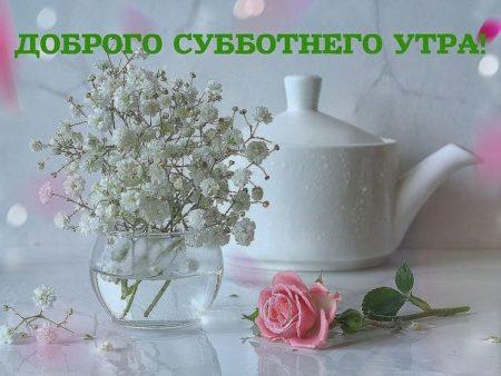 Пожелания с добрым субботним утром друзьям маленьких гостей