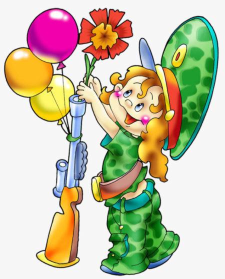 Детские картинки к 23 февраля для детского сада, осени картинки